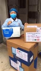 瑞士留学生及华人华侨支援武汉行动组第二批捐赠物资顺利被接收