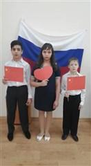 伏尔加格勒州卡梅申市孤儿院儿童为武汉加油!为中国加油!