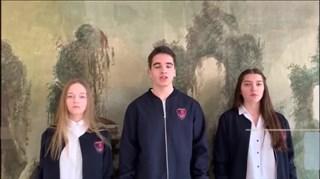 俄罗斯莫斯科1948外语中学同学们的祝福视频